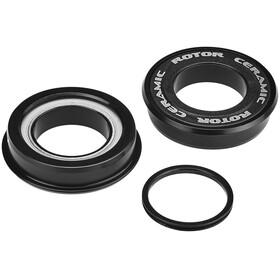 Rotor Press Fit 4124 Krankboks Ceramic Road BB86, MTB BB89 / BB92 24 mm sort